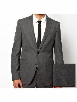 Классический мужской костюм серый SE