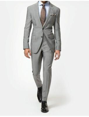 Мужской костюм серый Sergio Ellini