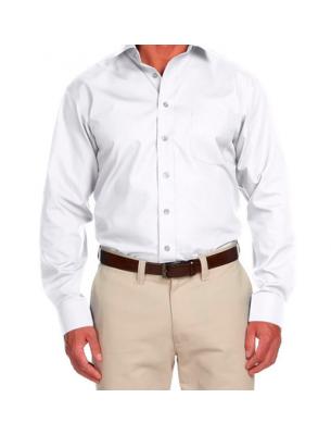 Рубашка мужская с длинным рукавом белая SE