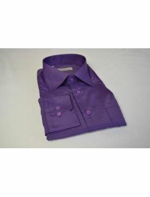 Мужская рубашка фиолетовая SE