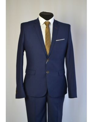 Мужской костюм синий SE