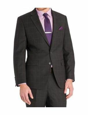 Стильный костюм с крупной клеткой  Sergio Ellini