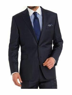 Классический костюм тёмно-синего цвета Sergio Ellini