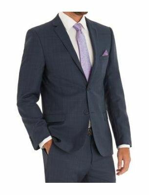 Элегантный мужской костюм в клетку  Sergio Ellini
