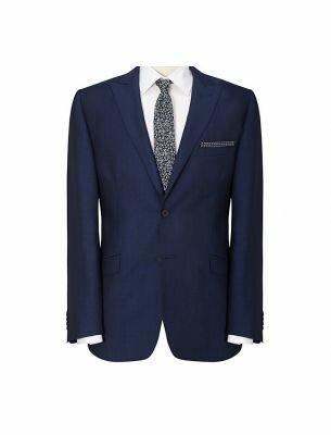 Синий мужской костюм Sergio Ellini