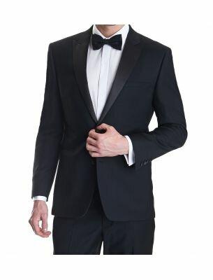 Элегантный черный костюм Sergio Ellini