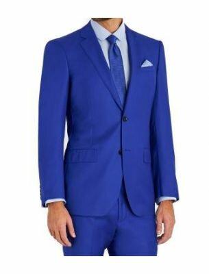 Костюм мужской синего цвета SE
