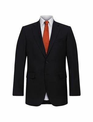 Мужской костюм черного цвета Sergio Ellini