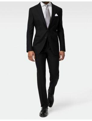 Мужской черный костюм SE
