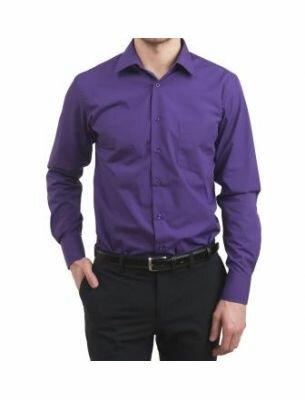 Мужская фиолетовая рубашка SE