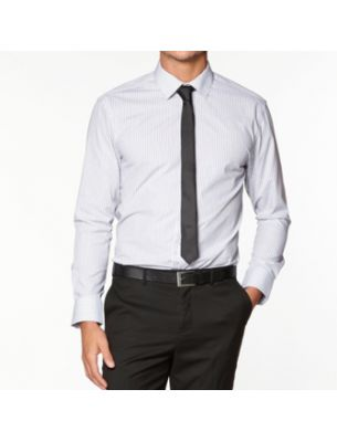 Мужская белая рубашка SE