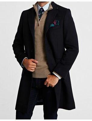 Пальто кашемировое мужское SE