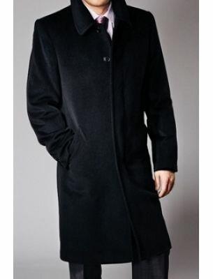 Мужское пальто длинное