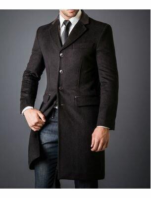 Мужское пальто в английском стиле SE