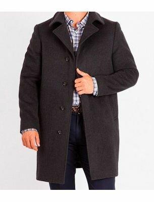 Пальто мужское коричневое SE