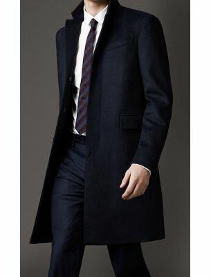 Мужское пальто удлиненное