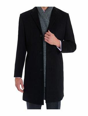 Мужское пальто укороченное