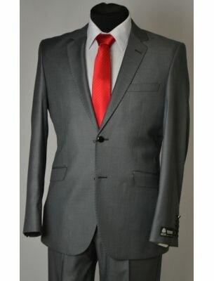 Мужской пиджак серого цвета