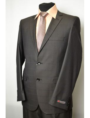 Пиджак мужской приталенный коричневый