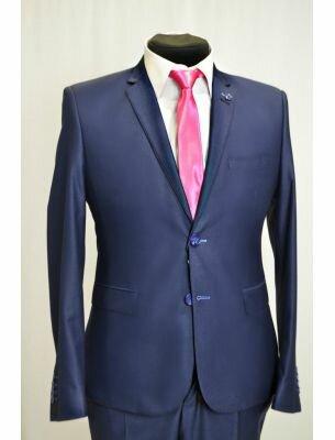 Пиджак мужской цвет королевский синий