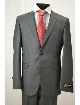 Мужской костюм серого цвета