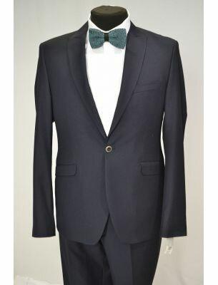 Мужской пиджак темно-синего цвета