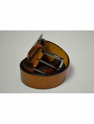 Мужской ремень светло-коричневый SE