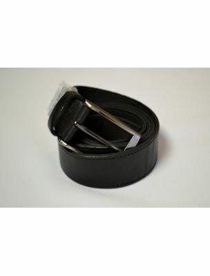 Мужской ремень классический черного цвета SE
