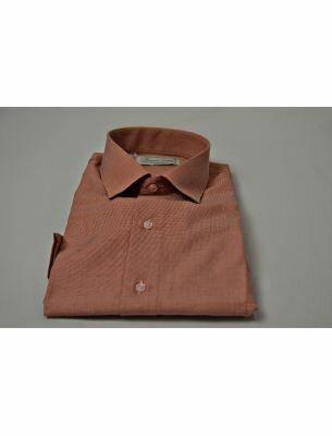 Рубашка мужская терракотовая