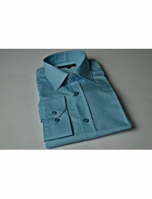 Рубашка голубая SE