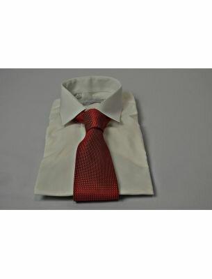 Рубашка с коротким рукавом айвори