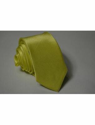 Галстук лимонный
